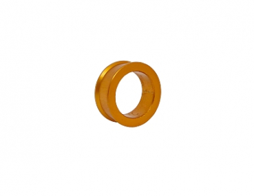 Distanzring 17 X 10mm gold