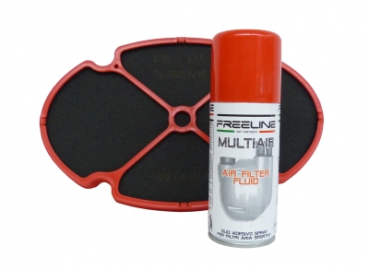 FreeLine Filter-Einsatz mit Filter Spray (Kit)
