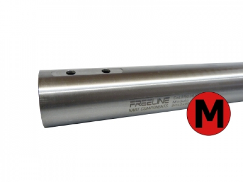 FreeLine Achse -M- 50 X 2 X 1040mm (rot) medium-hart KZ-Version